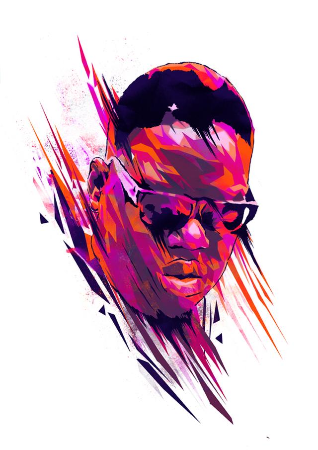 Illustration – The Notorious B.I.G.