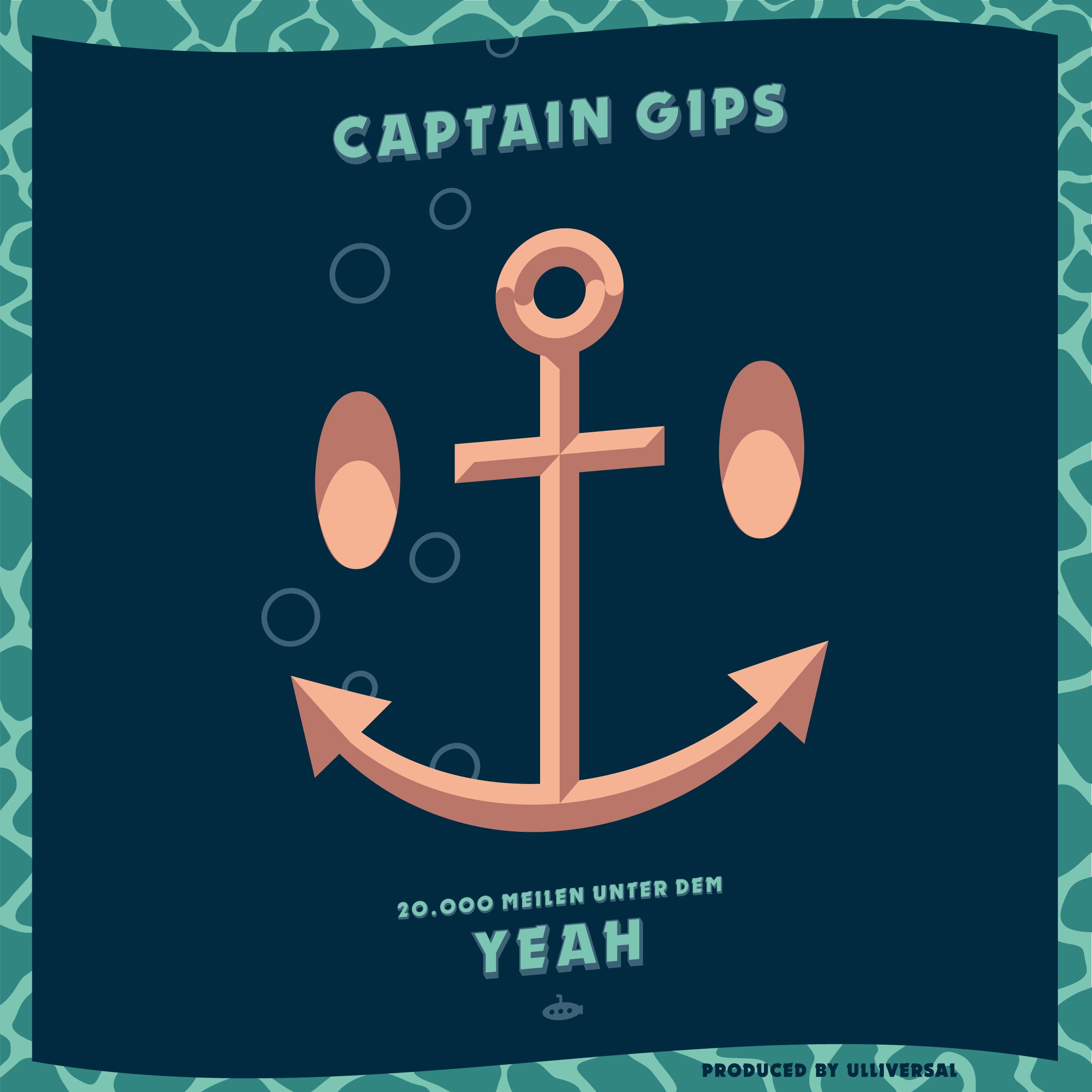 Captain Gips – 20000 Meilen unter dem Yeah Cover